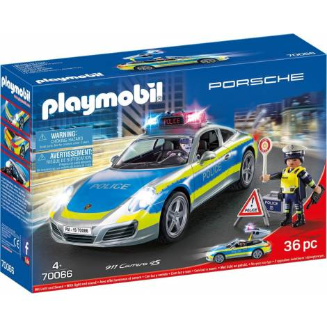 Playmobil® Porsche - Porsche 911 Carrera 4S Police (70066)
