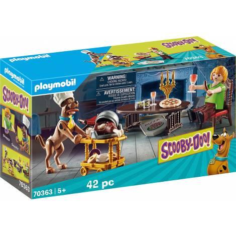 Playmobil SCOOBY-DOO! - Δείπνο με τον Σάγκι (70363)