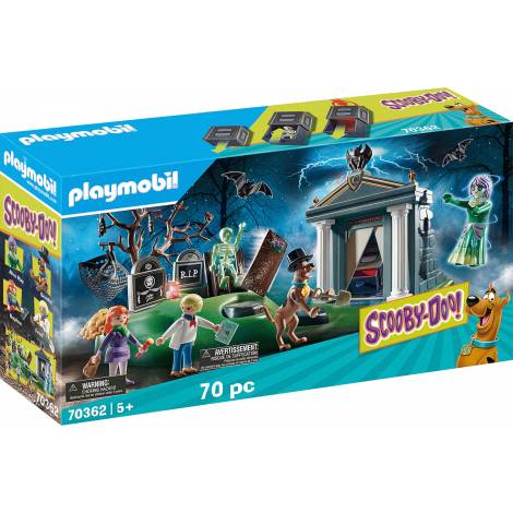 Playmobil® SCOOBY-DOO! - SCOOBY-DOO! Adventure in the Cemetery (70362)