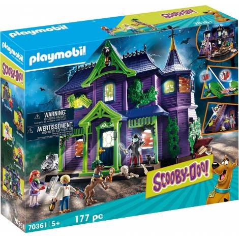 Playmobil® SCOOBY-DOO! - SCOOBY-DOO! Adventure in the Mystery Mansion (70361)