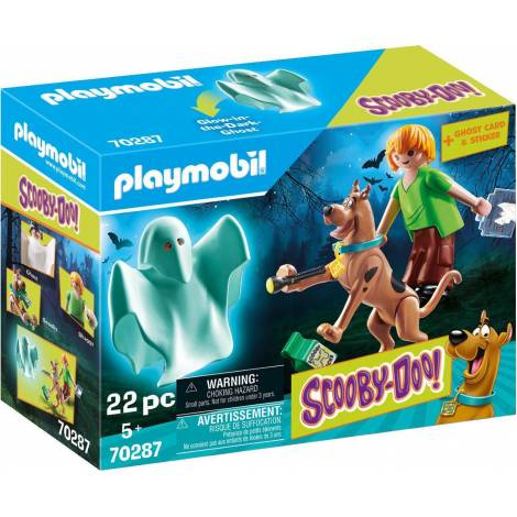 Playmobil® SCOOBY-DOO! - SCOOBY-DOO! Scooby Shaggy with Ghost (70287)