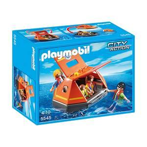 Playmobil - Σωσίβια λέμβος 5545 - Χαλασμένο κουτάκι