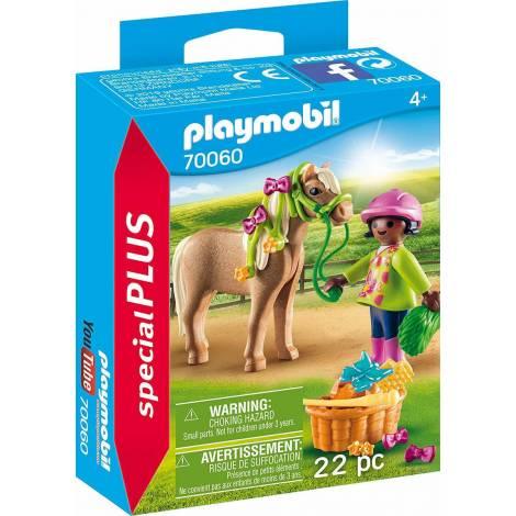Playmobil Special Plus: Girl with Pony (70060)