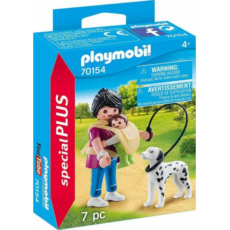Playmobil Special Plus - Mother With Baby and Dog (70154)