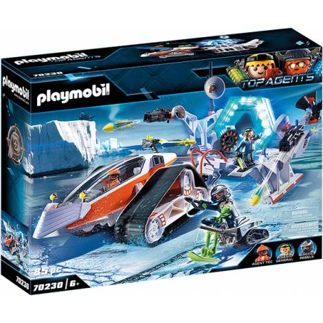 Playmobil Top Agents - Spy Team Command Sled (70230)