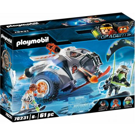 Playmobil Top Agents - Spy Team Snow Glider (70231)