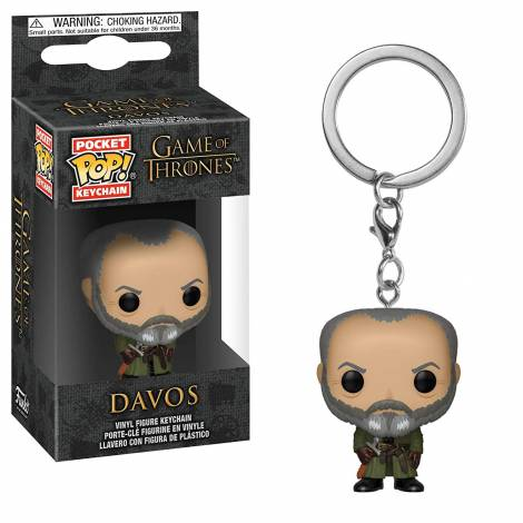 Pocket POP! Game of Thrones S10 - Davos Vinyl Figure Keychain
