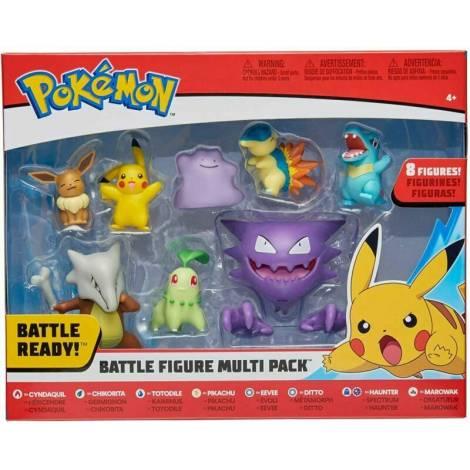 Jazwares : Pokemon Battle Figures (8 τμχ) (97929)