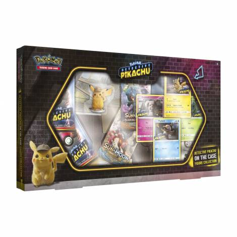 Pokemon : Detective Pikachu On The Case Figure Collection