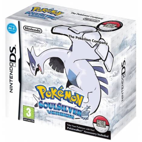 Pokemon Soulsilver & Pokewalker  (NINTENDO DS)