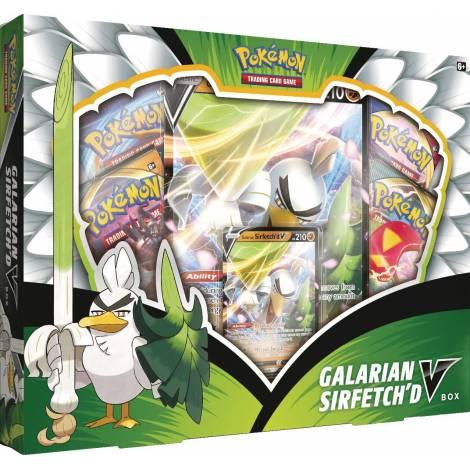 Pokemon TCG : Galarian Sirfetch'd V Box