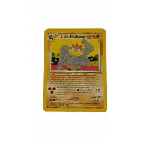 Pokemon TCG : Light Machamp  (25/105)