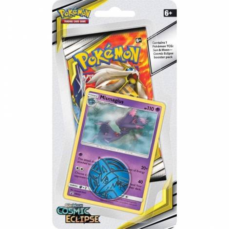Pokemon TCG Sun & Moon: Cosmic Eclipse  Blister Mismagius