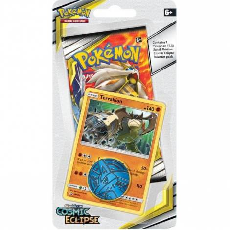 Pokemon TCG Sun & Moon: Cosmic Eclipse Blister Terrakion