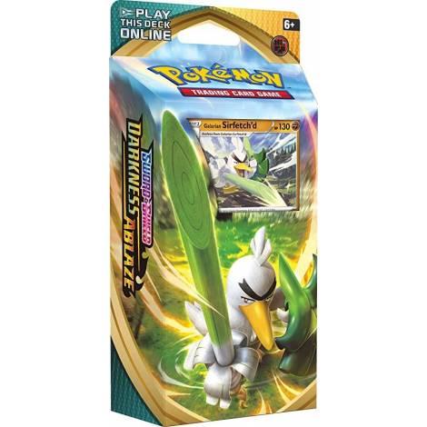 Pokemon TCG: Sword & Shield Darkness Ablaze - Sirfetchd Theme Deck