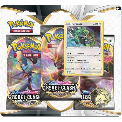 Pokemon TCG - Sword & Shield : Rebel Clash Rayquaza Blister