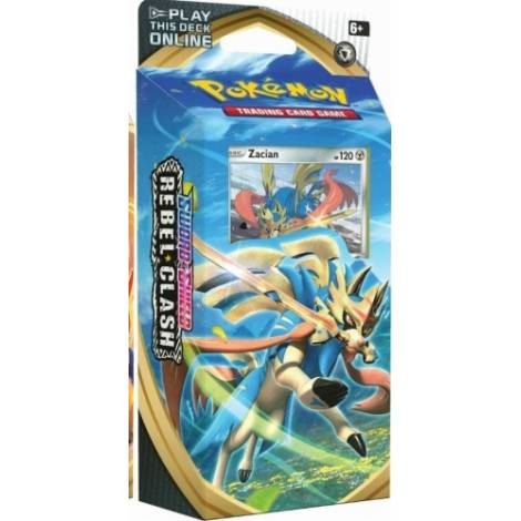 Pokemon TCG Sword & Shield Rebel Clash Theme Deck - Zacian