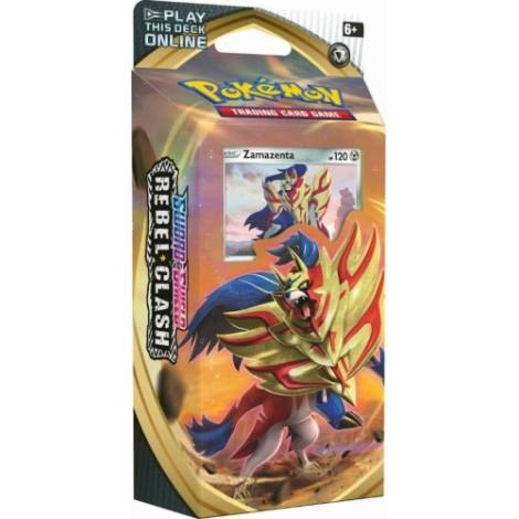 Pokemon TCG Sword & Shield Rebel Clash Theme Deck - Zamazenta