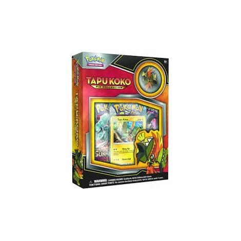 Pokemon TCG - Tapu Koko Pin Collection