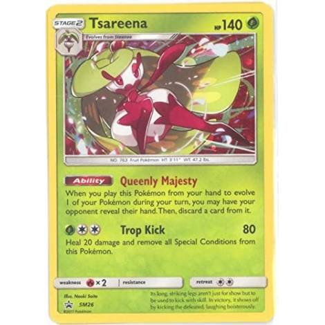 Pokemon TCG : Tsareena  (SM26)