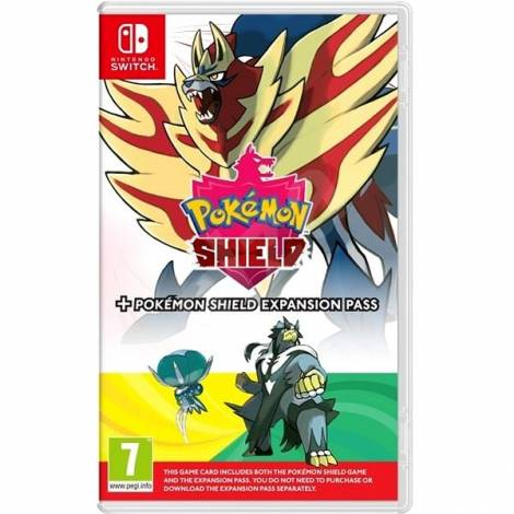 Pokémon Shield + Expansion Pass (The Isle or Armor & The Crown Tundra) (NINTENDO SWITCH)
