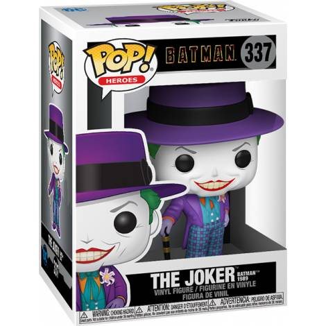 Pop! DC Primal Age: - Batman 1989 Joker hat #337
