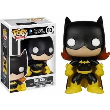 POP! DC Super Heroes - Batgirl Black Costume #03 Vinyl Figure