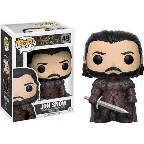 POP! Game of Thrones - Jon Snow #49 Vinyl Figure - με χτυπημένο κουτάκι
