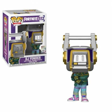 Pop Games: Fortnite S3 - DJ Yonder #512 Vinyl Figure