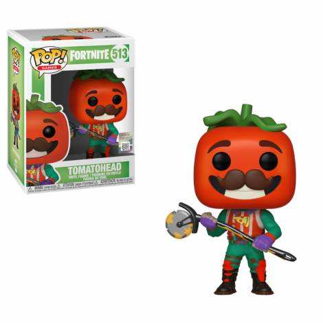 Pop Games: Fortnite S3 - TomatoHead #513 Vinyl Figure