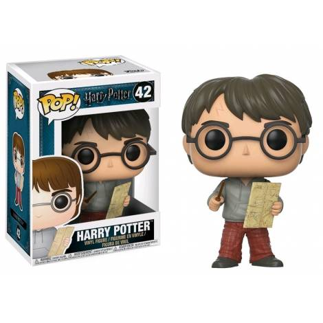POP! Harry Potter - Harry with Marauders Map #42 Vinyl Figure