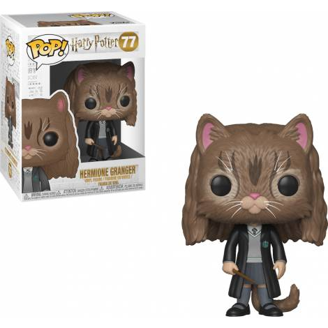 POP! Harry Potter: S5 - Hermione as Cat #77 Vinyl Figure