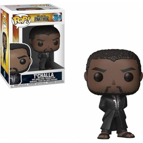 POP! Marvel: Black Panther - T'Challa #351 Vinyl Bobble-Head Figure