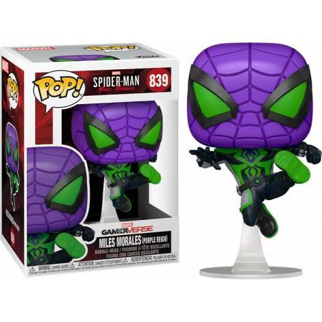 Pop! Marvel: Spider-Man - Gameverse Miles Morales (Purple Reign) 839