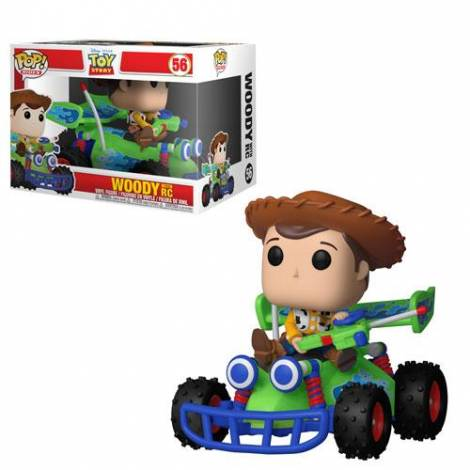 POP! Ride: Toy Story - Woody w/ RC #56 Vinyl Figure