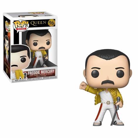 POP! Rocks: Queen - Freddie Mercury Wembley 1986 #96 Vinyl Figure