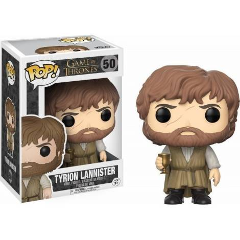POP! Television: Game of Thrones - Tyrion Lannister #50 Vinyl Figure - με πιεσμένο κουτάκι