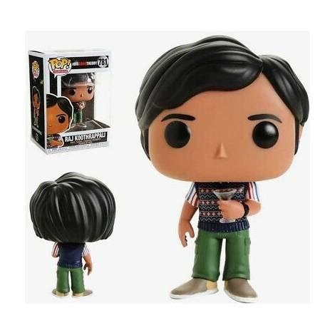POP! TV : Big Bang Theory Raj koothrappali Fowler #781 Vinyl Figure