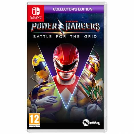 Power Rangers : Battle For The Grid - Collector's Edition (NINTENDO SWITCH)