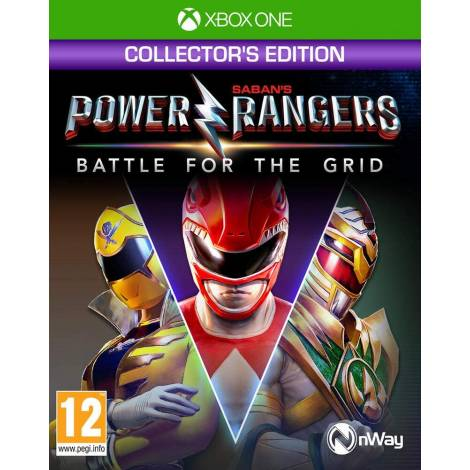 Power Rangers : Battle For The Grid - Collector's Edition  (XBOX ONE)