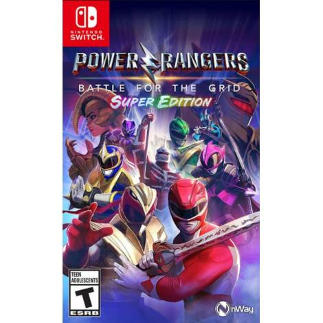 Power Rangers : Battle For The Grid Super Edition (Nintendo Switch)
