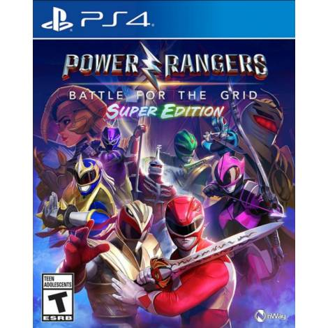 Power Rangers : Battle For The Grid Super Edition (PS4)