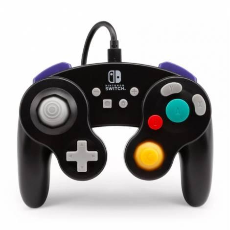 PowerA GAMECUBE WIRED CONTROLLER (BLACK) (Nintendo Switch)