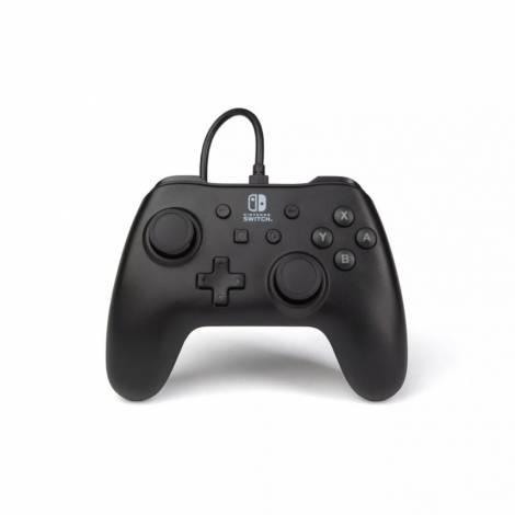 PowerA Wired Controller (Black Matte) (Nintendo Switch)