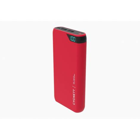 Powerbank Cygn ChargeUpBoost15,000mAh RED  (CY2508PBCHE)