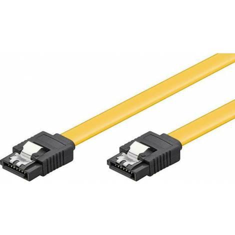 Powertech 7-Pin SATA III - 7-Pin SATA III Cable 0.5m Κίτρινο (CAB-W024)