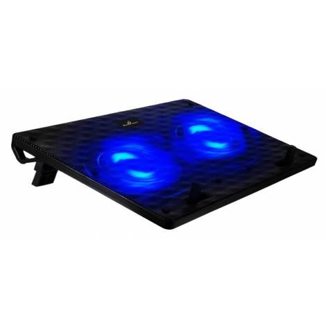 POWERTECH Βάση & ψύξη laptop PT-739 έως 17