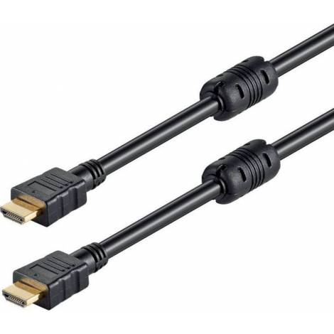 Powertech HDMI 1.4 Cable with Ethernet HDMI male - HDMI male 5m (CAB-H005)