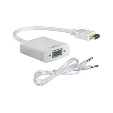 Powertech HDMI male - VGA female (CAB-H072)