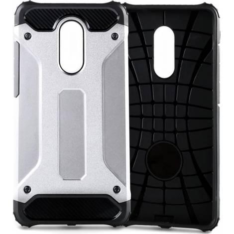 Powertech Hybrid Back Cover Ασημί (Xiaomi Redmi Note 4x)  MOB-0849